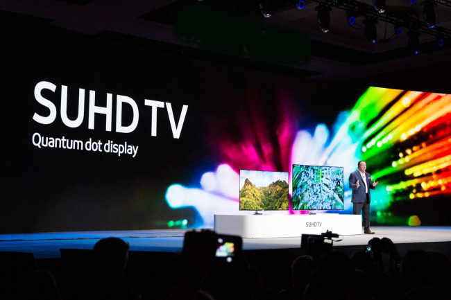 samsung quantum dot display