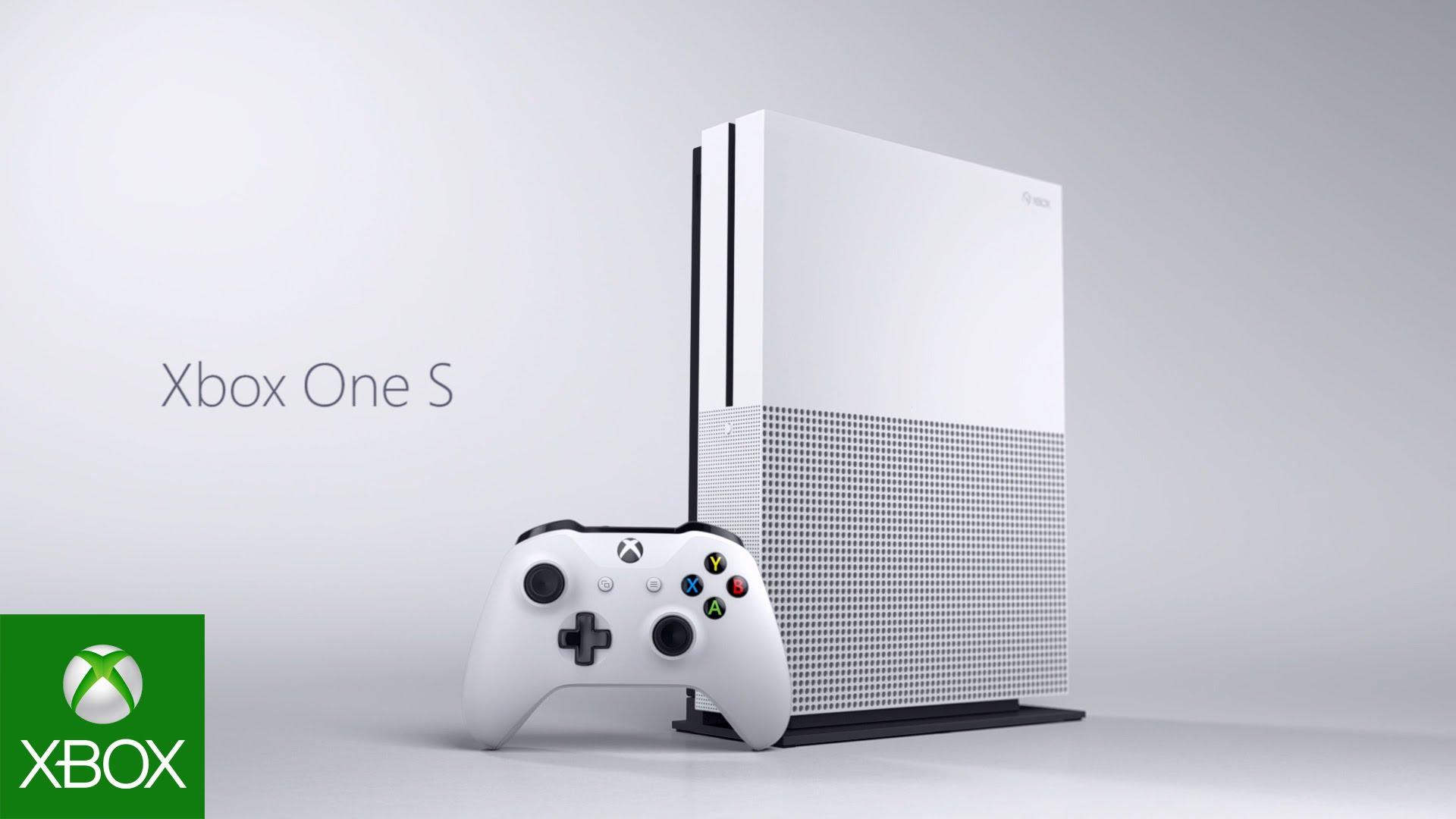 Xbox One S llega para sustituir al Xbox One original