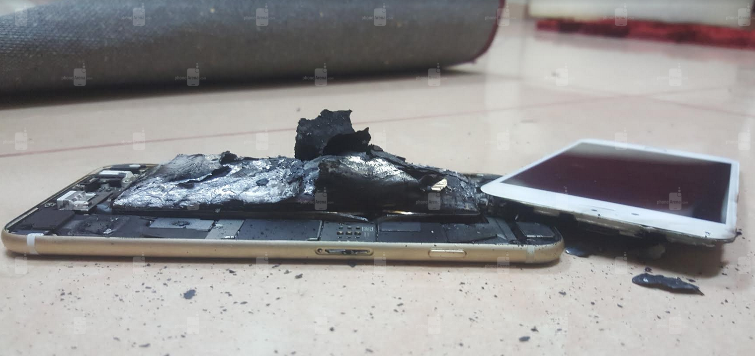 Apple-iPhone-6s-explodes-and-then-catches-on-fire (1)