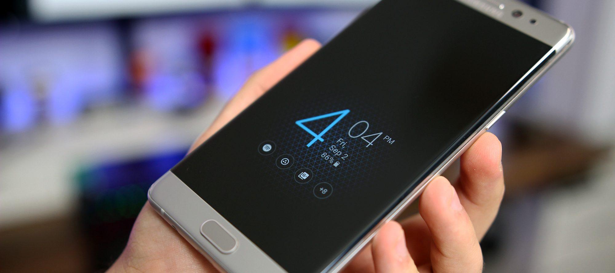 Galaxy S8 Plus llegaría para cubrir el espacio dejado por el Note 7