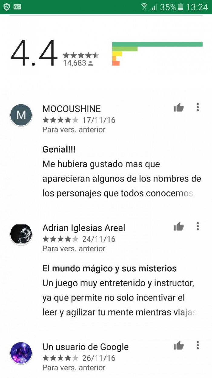 google play animales review