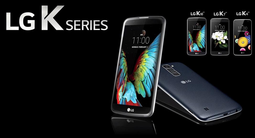 LG continuará apostando por la linea LG K