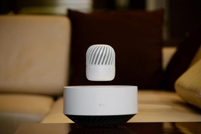 lg levitable portable speaker