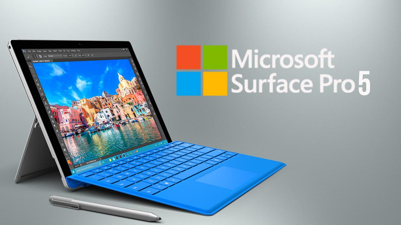 Surface Pro 5 llegará muy pronto