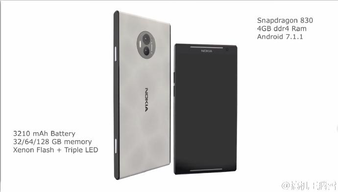 Nokia C1 podría lucir así