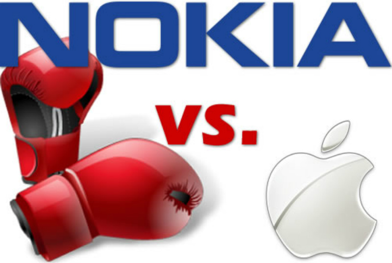 Nokia demanda porque Apple infringe 32 patentes