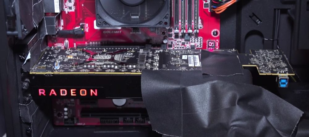 Así lucía AMD Vega en el CES 2017