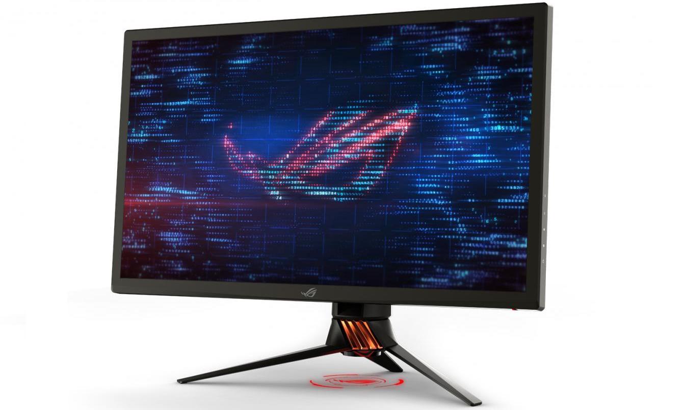 Así luce el nuevo monitor gaming de ASUS ROG