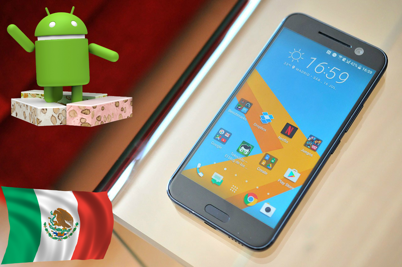 HTC 10 ya cuenta con Nougat oficial