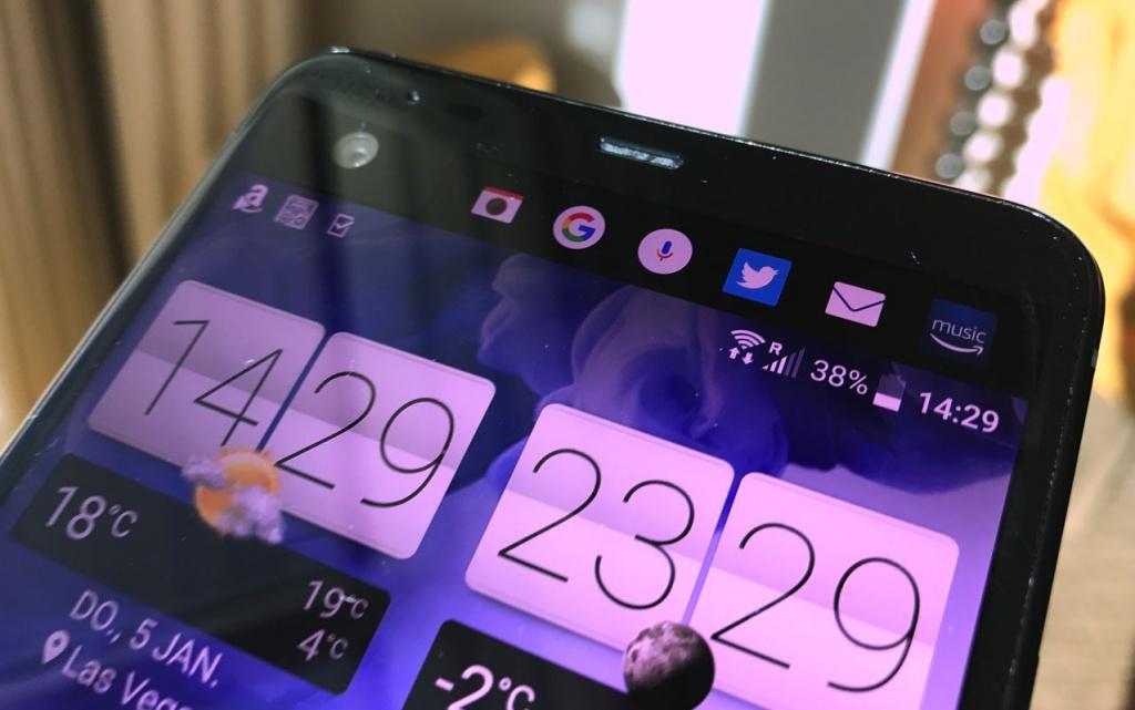 Así luce el frontal del nuevo gama alta de HTC