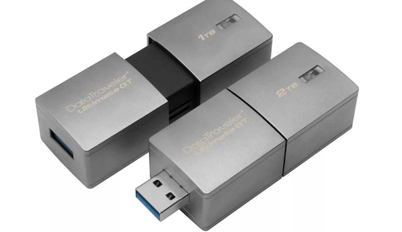 Así luce la nueva USB de Kingston, algo 'gordita', pero vale la pena
