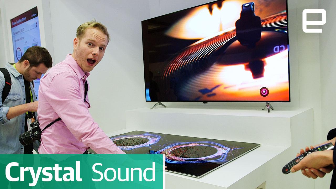Así luce el nuevo televisor UHD Crystal Sound de LG