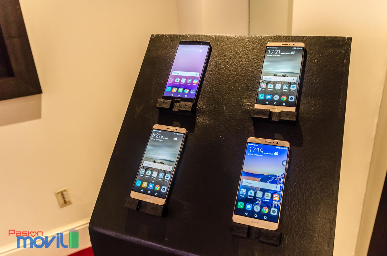 Marca Evento Presentación Huawei Mate 9 en México