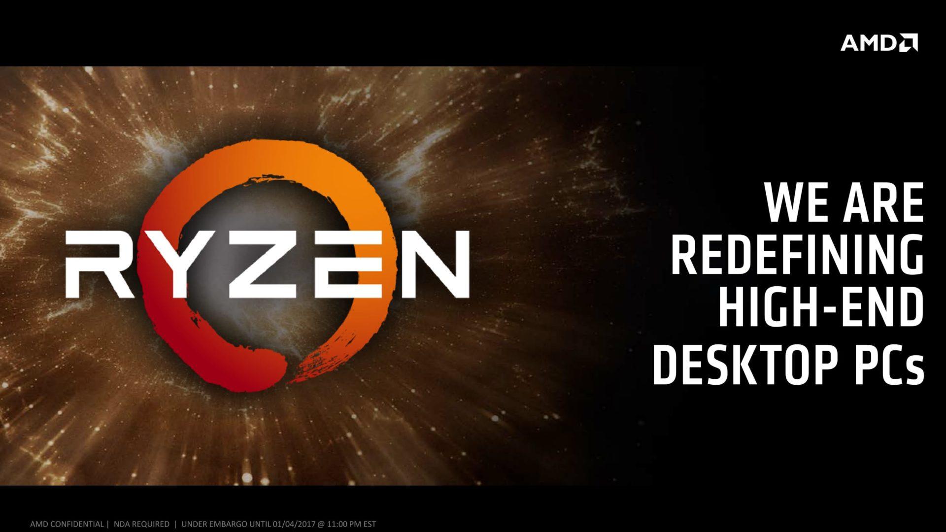 Finalmente conocimos algunos detalles de AMD Ryzen