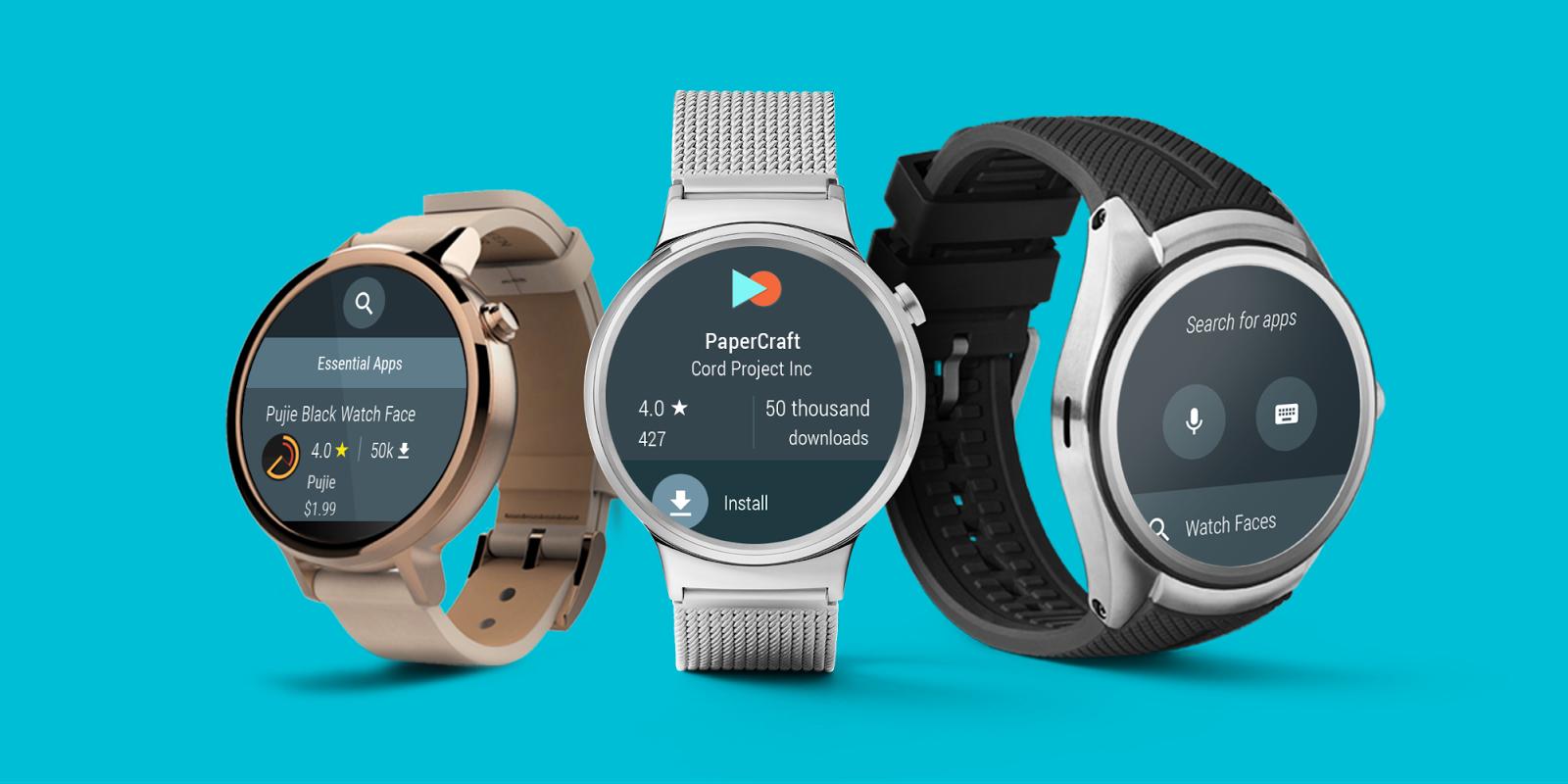 Faltan tres semanas para el lanzamiento de Android Wear 2.0