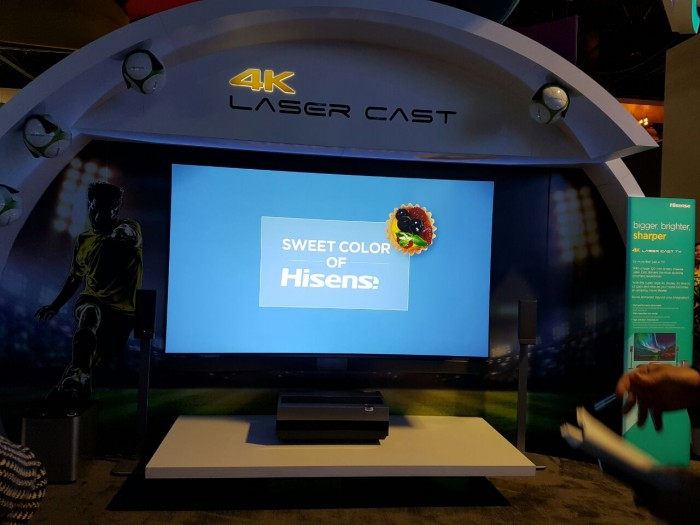 hisensebooth laser cast2