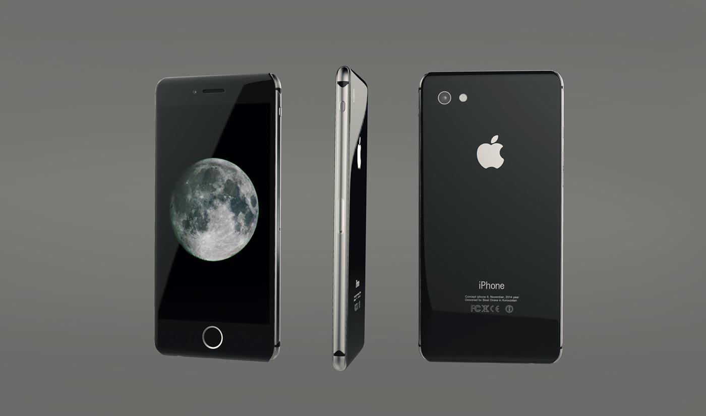 iPhone 8 tendría marcos de acero inoxidable y cuerpo en vidrio ...