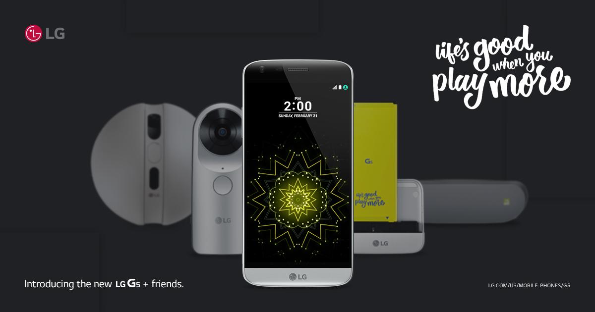 LG G5 no fue el buque insignia esperado