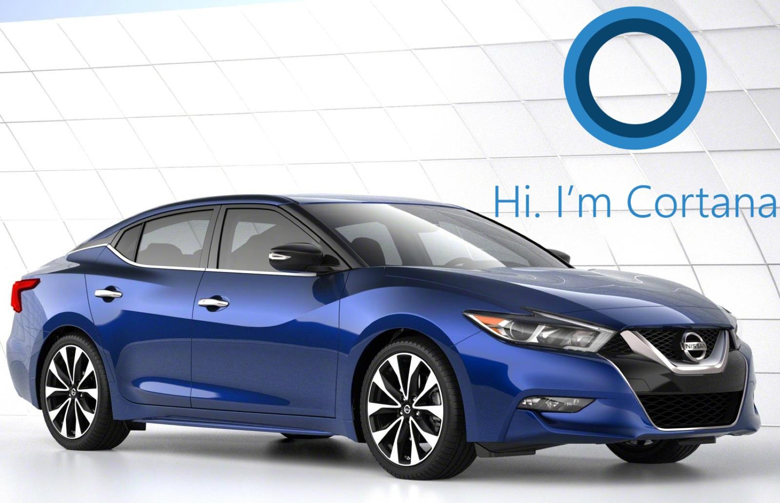 """Hola, Cortana"" será una frase para decir dentro de tu Nissan"