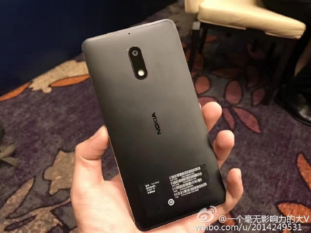 Así es el Nokia 6 con Android 7.0 Nougat