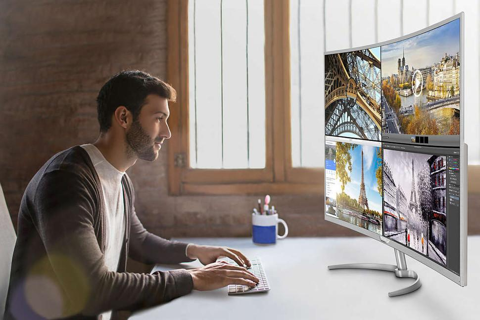 Así luce el nuevo monitor de Philips