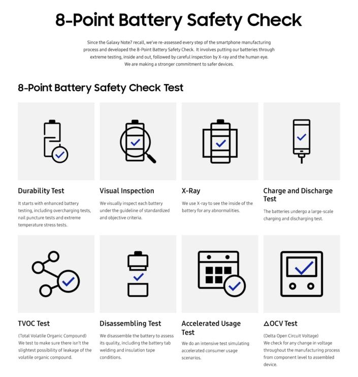 samsung baterias medidas seguridad