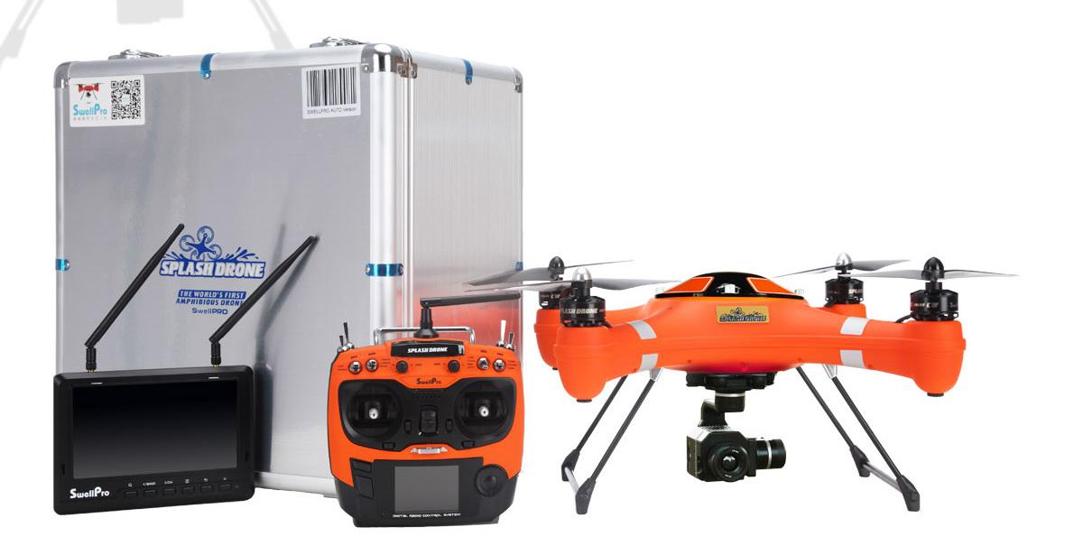 Así es el modelo más costoso de SwellPro Splash Drone