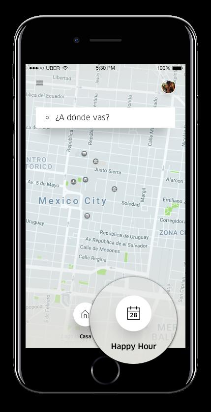 uber calendar