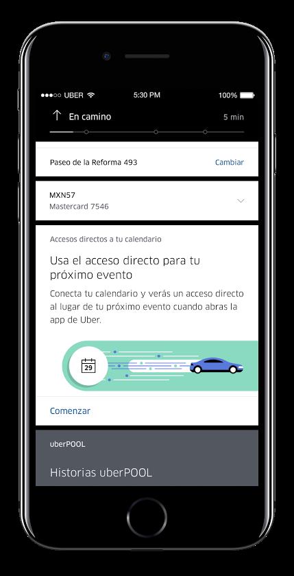 uber calendario