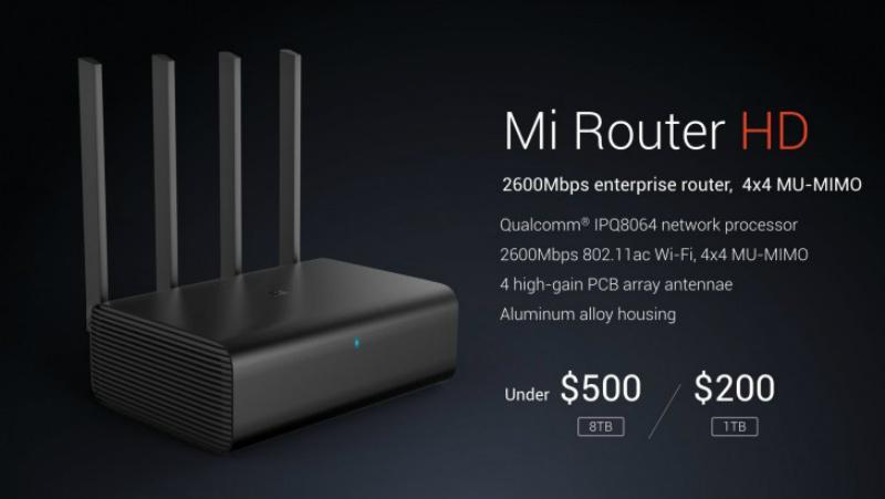 Conoce el nuevo router de Xiaomi