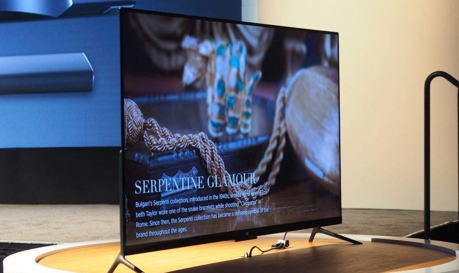 Así es el nuevo televisor de Xiaomi
