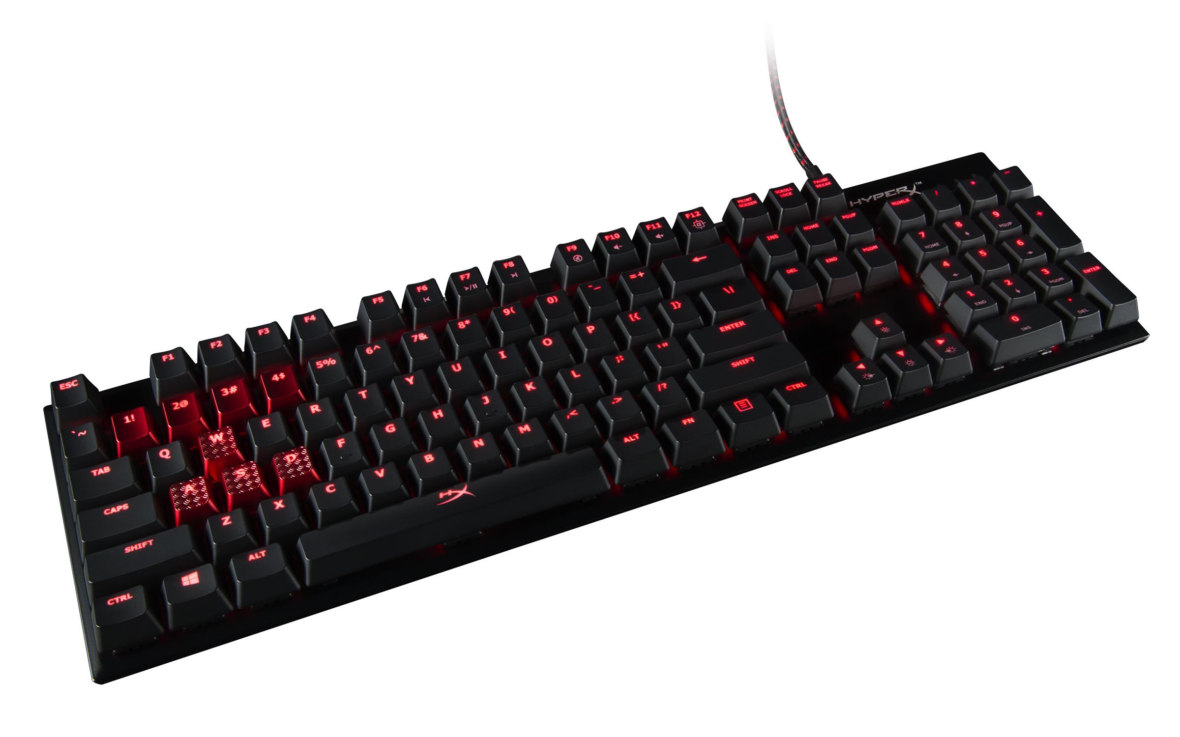 Este es el teclado HyperX Alloy FPS