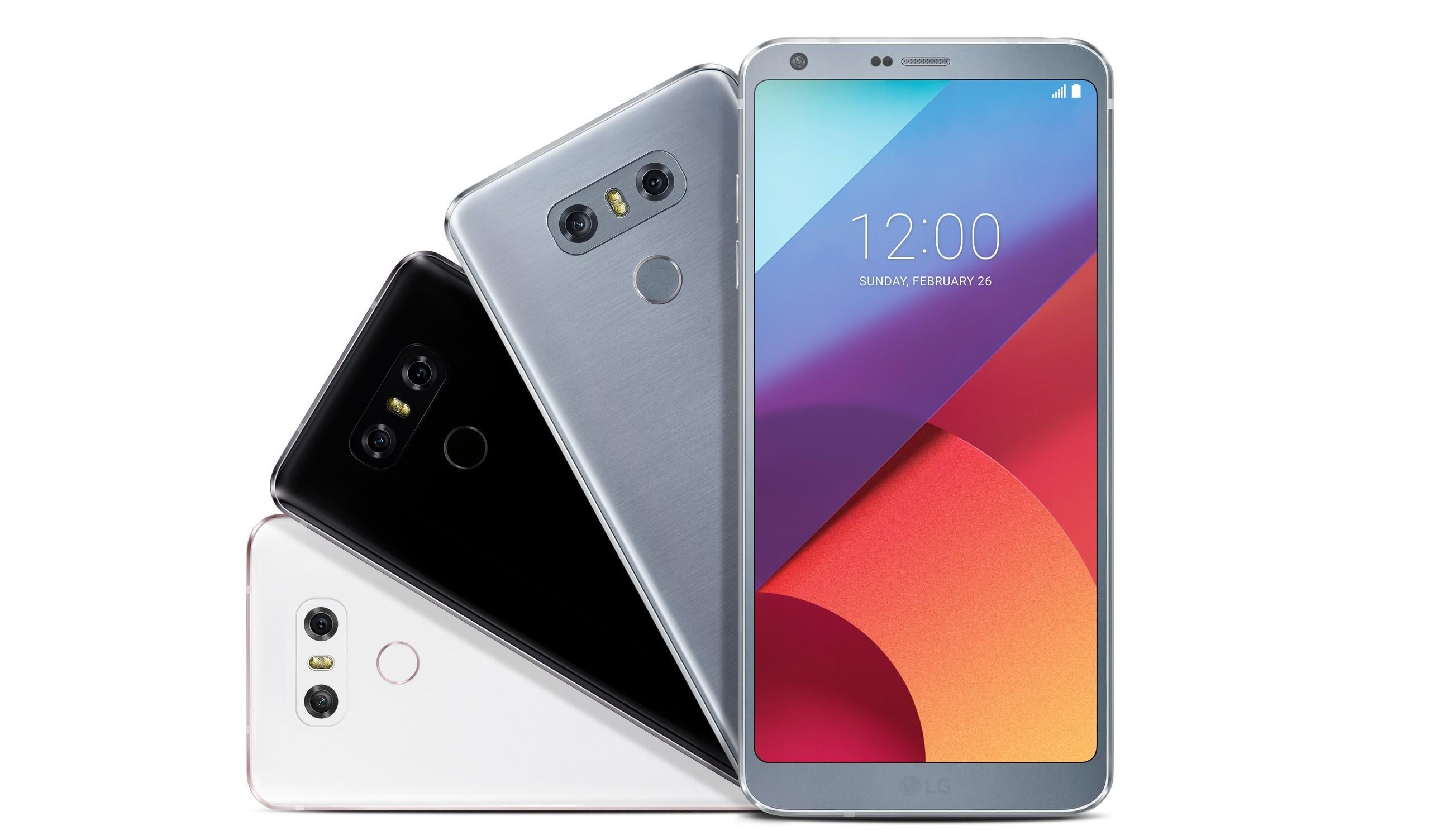 LG G6 es oficial con nuevas características técnicas