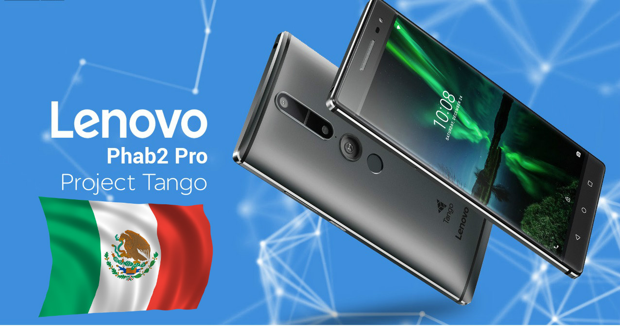 Lenovo Phab 2 Pro ya está a la venta en México