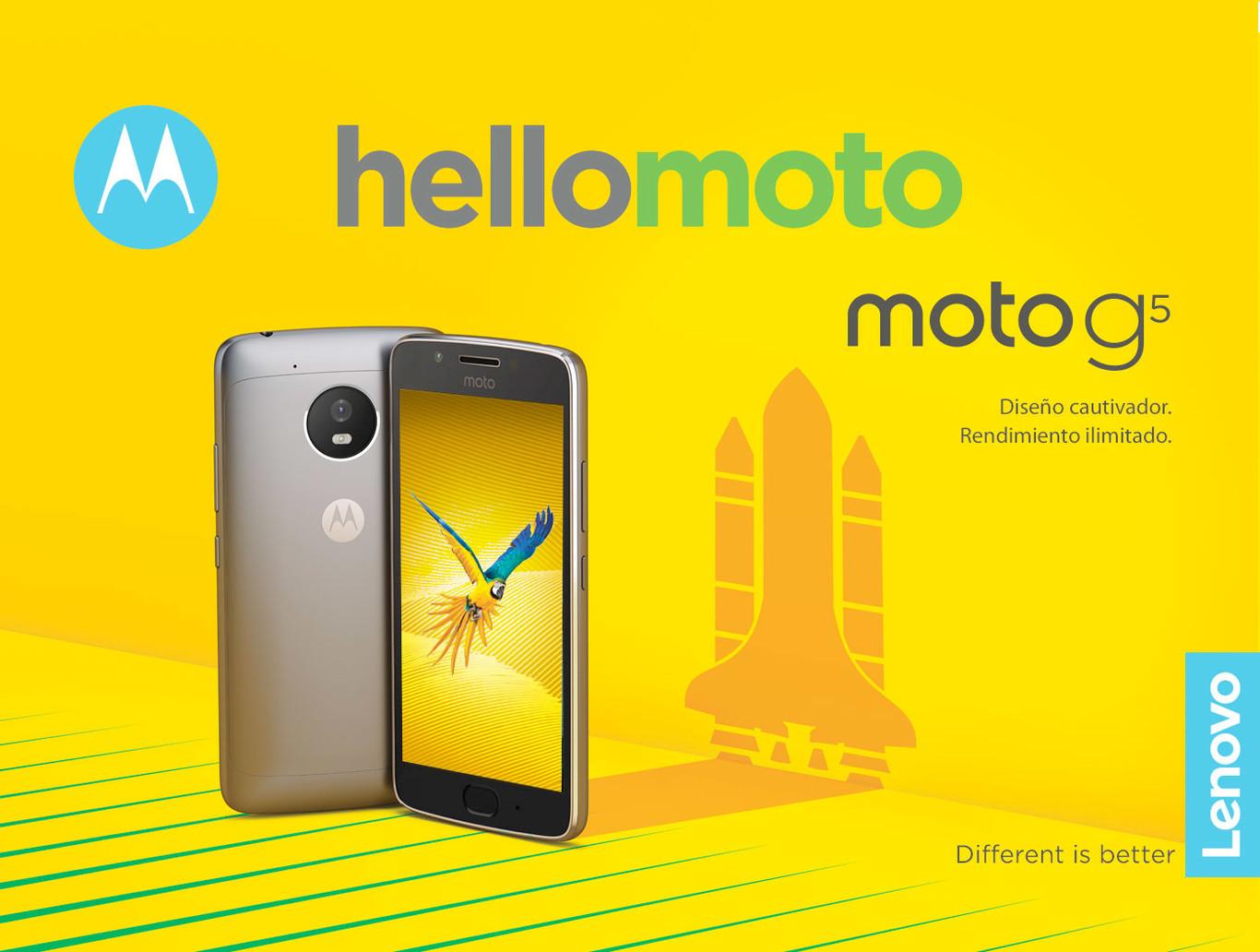 Moto G5 IMAGENES OFICIALES
