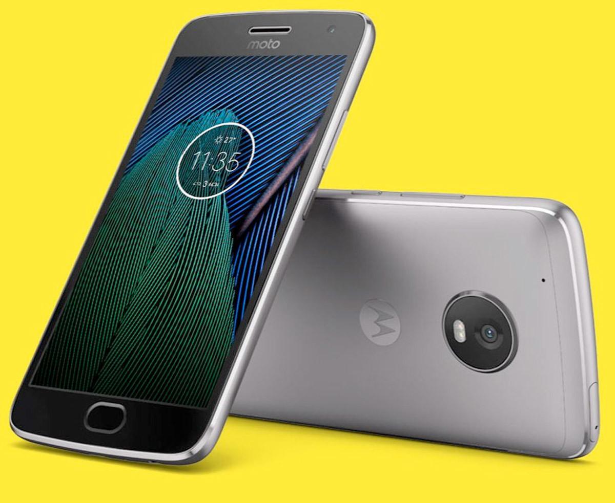 Moto G5 Plus imagen oficial