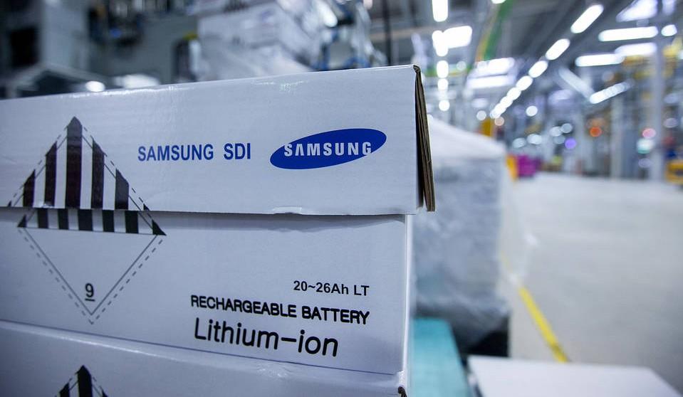 Samsung SDI ahora registra problemas en una fábrica tras un incendio
