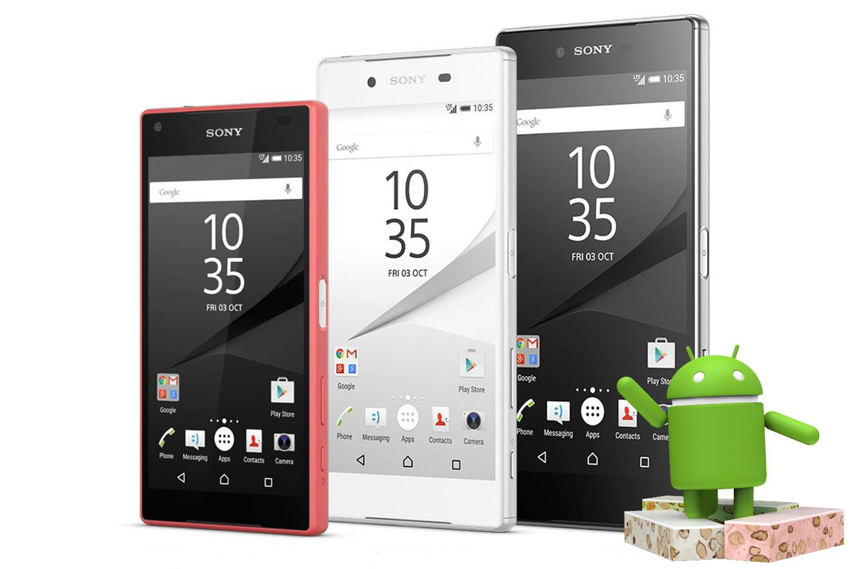Sony Xperia Z5 Series vuelve a recibir Nougat