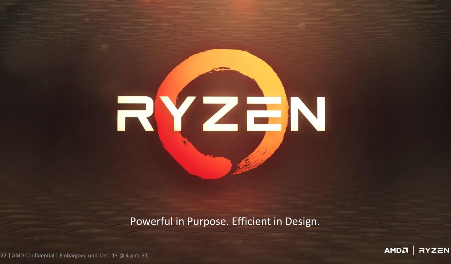 AMD Ryzen finalmente llegará al mercado