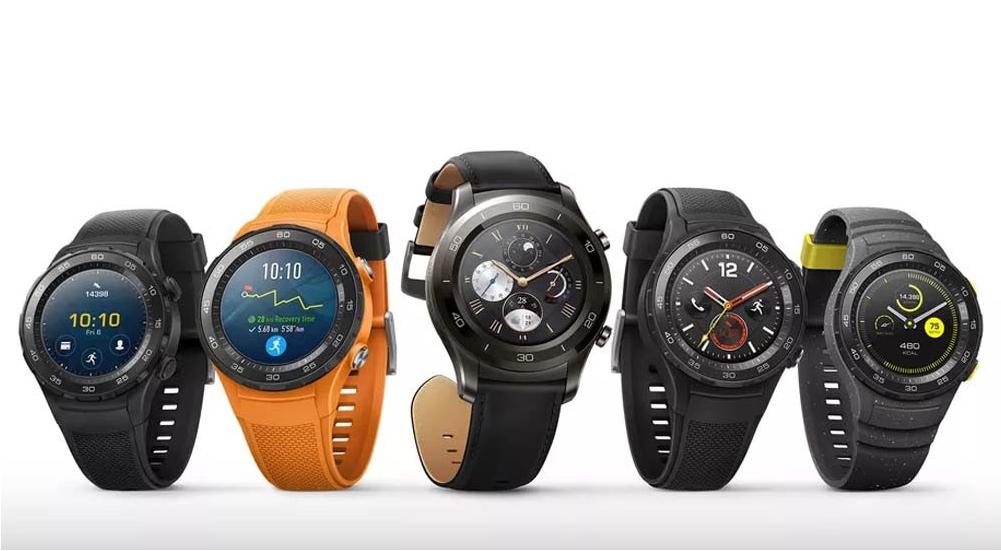 Así lucen los nuevos smartwatches de Huawei