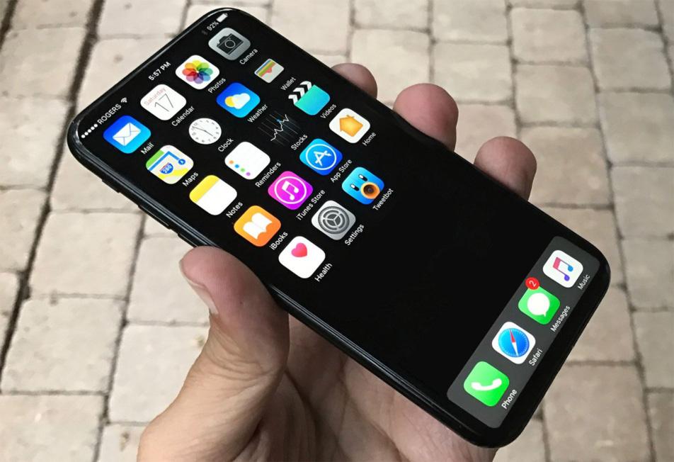 """iPhone 8 tendría una pantalla de 5.8"""" en un cuerpo de 4.7"""""""