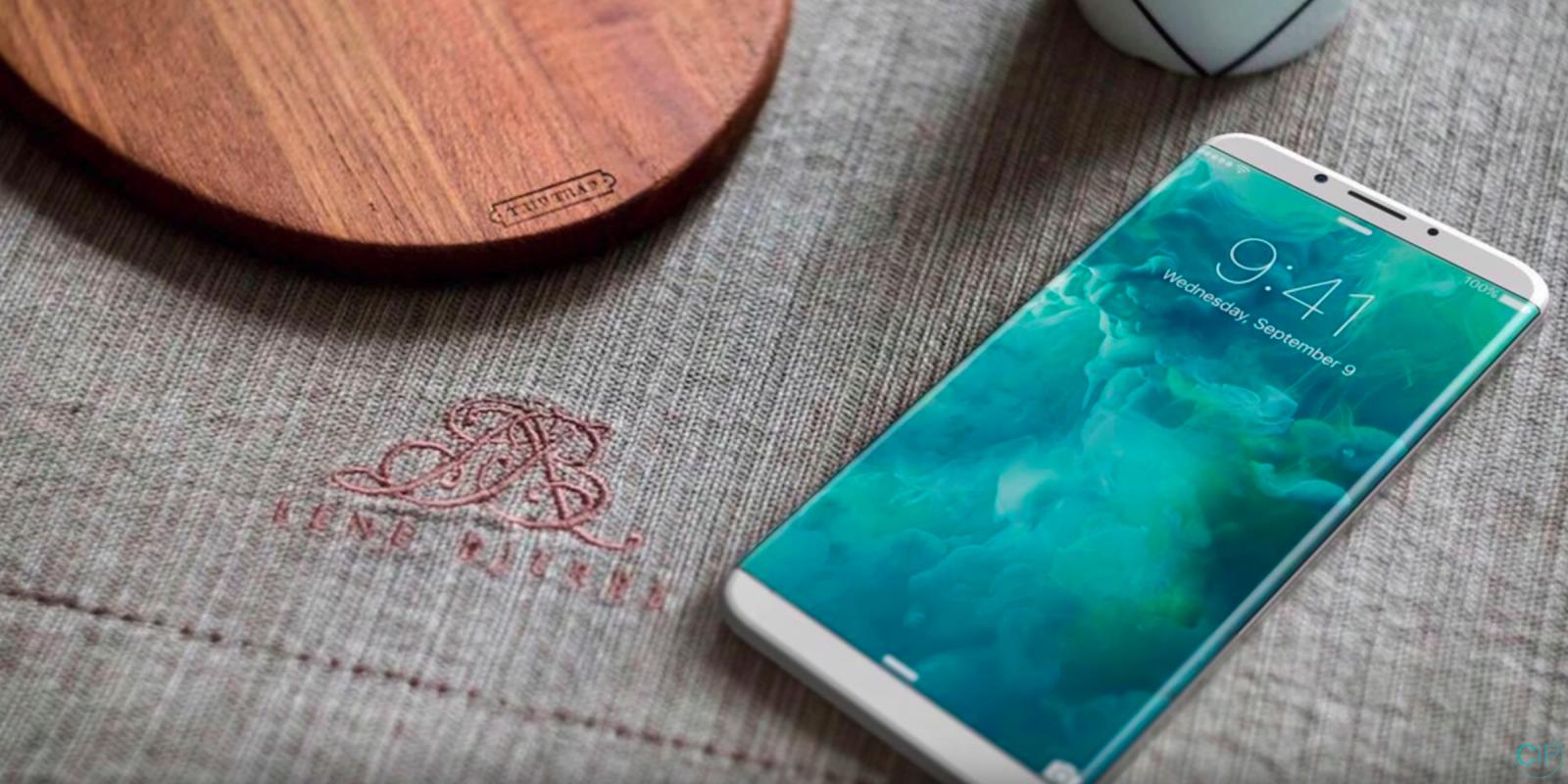 iPhone 8 podría apostar por las curvas laterales al usar un panel OLED