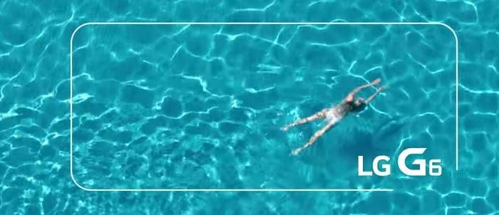 lg g6 piscina