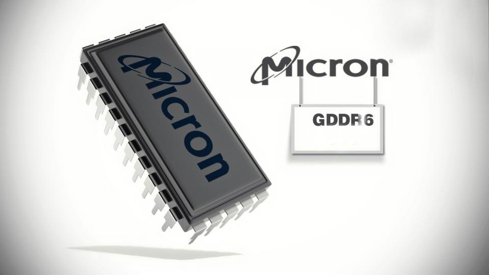 Micron estrenará memorias GDDR6 para finales de 2017