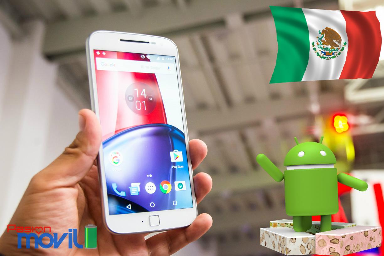 Moto G4 Plus ya goza de Nougat en México