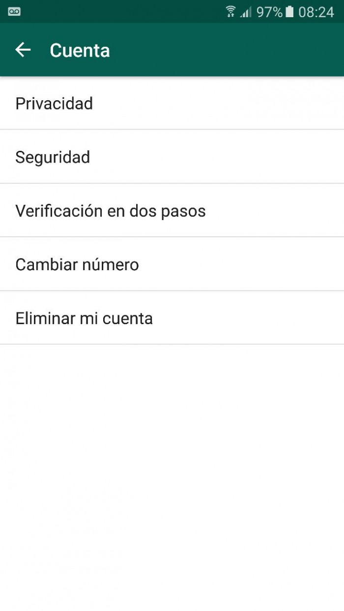 whatsapp dos pasos