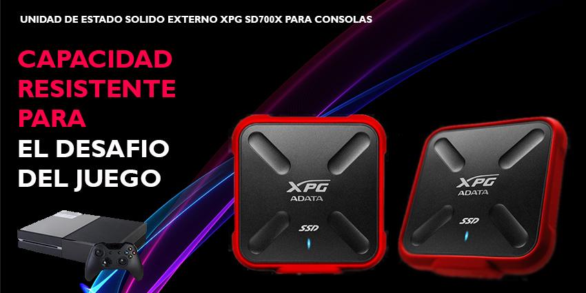 Conoce el nuevo ADATA XPG SD700X