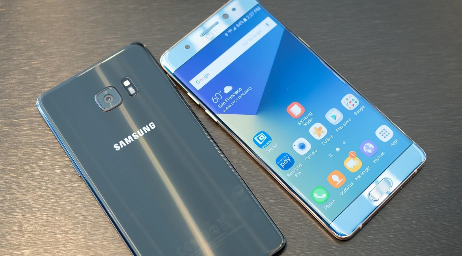 Galaxy Note 7 estará de regreso en mercados seleccionados