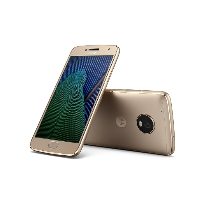 Moto G5 Plus_Fine Gold_Front_Back