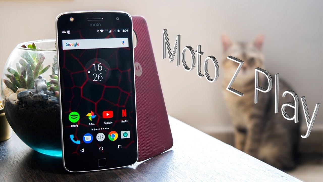 Conoce al Moto Z Play en todo su esplendor